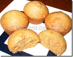Eggless Banana Muffin 2