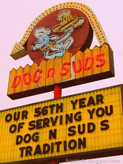 Dog N Suds - with 1960's filter applied