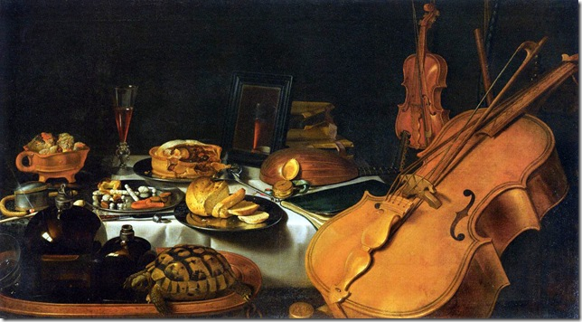 Pieter Claesz_Still-Life_with_Musical_Instruments_-_1623