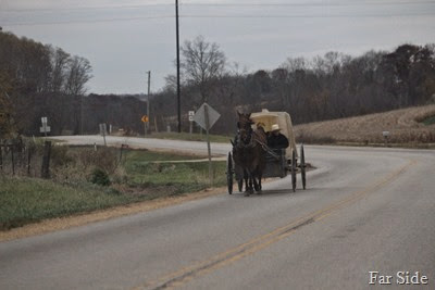 Amish School children on their way to school