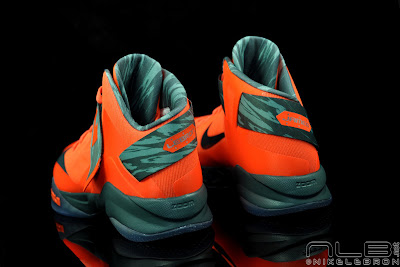 lebrons soldier6 orange camo 42 web black The Showcase: Nike Zoom Soldier VI Orange & Hasta Camo