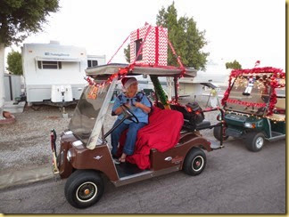 2013-12-20 - Az, Yuma - Cactus Gardens Christmas Golf Cart Parade -001