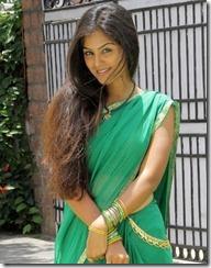Actress-Monal-Gajjar-Latest Hot Photos in saree