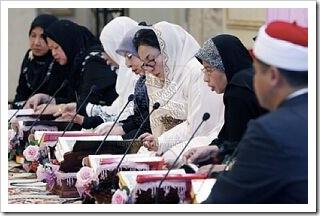 Rosmah turut berjaya  mengkhatamkan Al-Quran pada tahun lalu
