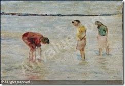smeers-frans-1873-1960-belgium-bord-de-mer-anime-1285862