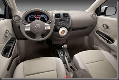 Nissan-Sunny-Dashboard-View