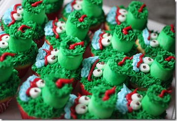 Philly Phanatic Cupcakes