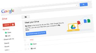 Simpan data secara online