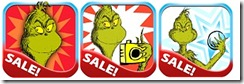 Seuss Grinch Apps Sale