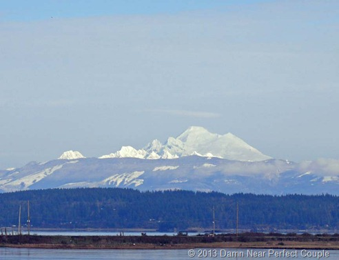 Mt Baker from Whidbey Island