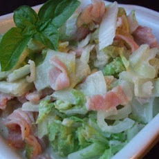 Creamed Cabbage and Bacon