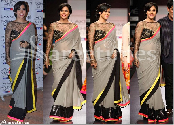 Kajol_Manish_Malhotra_Grey_Saree