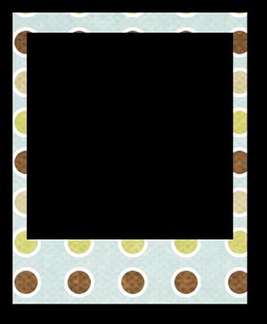polaroidframe-dots