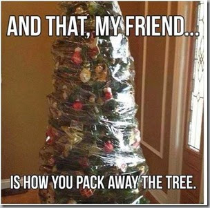 pack away the tree