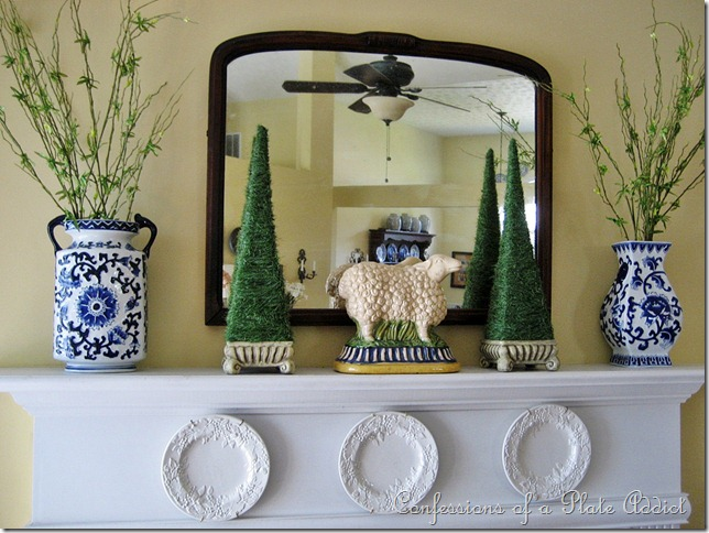 CONFESSIONS OF A PLATE ADDICT Mantel