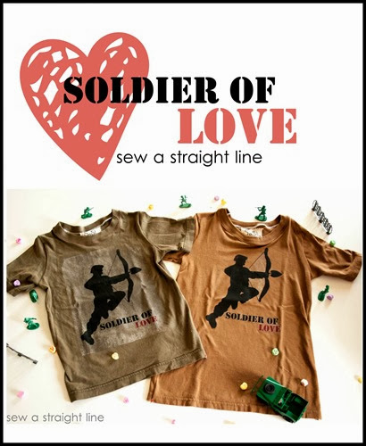 Soldier of Love Sew a Straight Line-10a