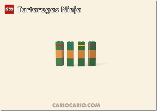 Lego tartaruga ninja