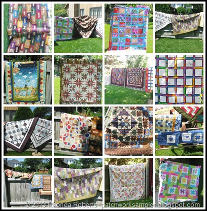 Quilt Show Collage