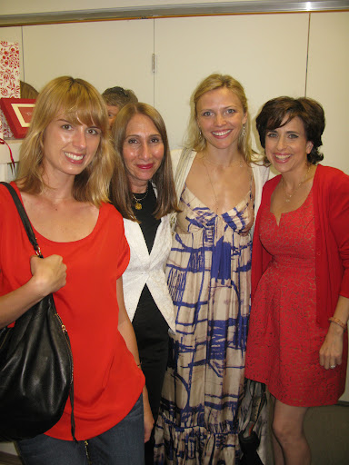 From left: Deputy editor Cara Sullivan, executive director of jewelry and luxury Denise Silverberg, Gabriella of Gabriella New York Bridal Salon, and me!