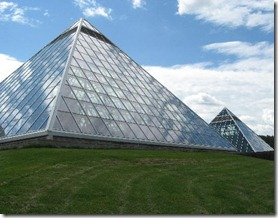 Muttart Conservatory in Edmonton