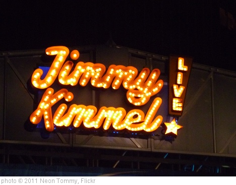 'Jimmy Kimmel Live stage' photo (c) 2011, Neon Tommy - license: http://creativecommons.org/licenses/by-sa/2.0/