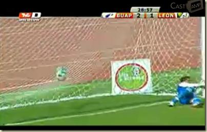 Segundo gol de Jaír García