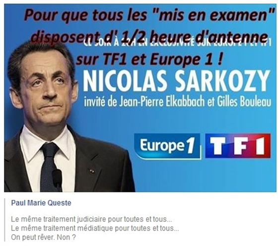Sarkozy e egalitat