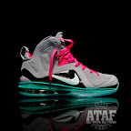 nike lebron 9 ps elite grey candy pink 6 03 LeBron 9 P.S. Elite Miami Vice Official Images & Release Date