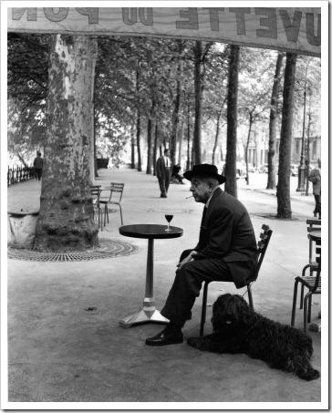 Robert_Doisneau_Jacques_Prevert_au_Gueridon_1955