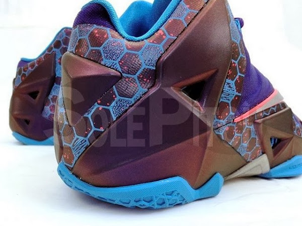 Detailed Look at 8220Summit Lake Hornets8221 Nike LeBron XI