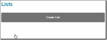 create-list-mailchimp