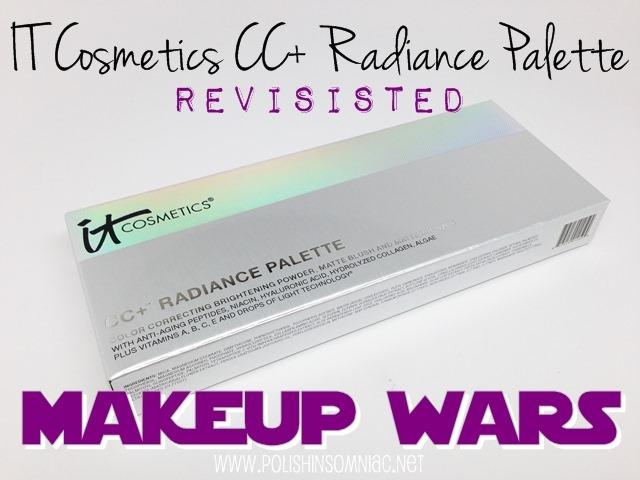 Makeup Wars - IT Cosmetics CC  Radiance Palette