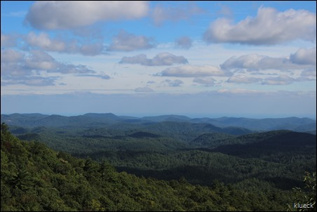 Blue Valley Overlook, near Highlands NC