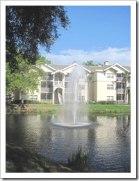 Florida vacation condo where we stayed