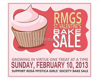 Feb Bake Sale Flier