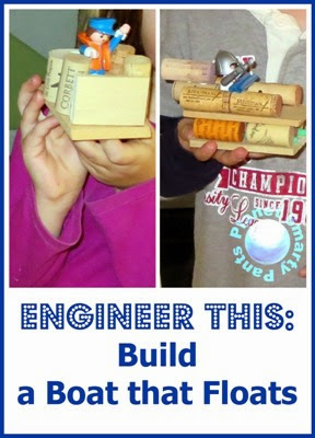 Engineering for Kids: Build a Boat that Floats