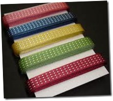 in colour 2012-14 satin ribbon