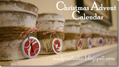 Christmas Advent Calendar from mudpiereviews.blogspot.com