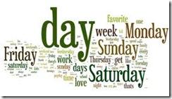 favorite week day
