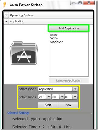Auto Power Switch automatizzare la chiusura dei programmi a orario stabilito