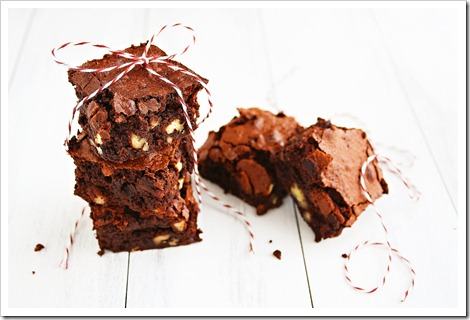 Gluten Free Fudgy Pecan Brownies