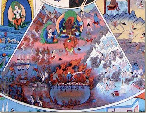 hindu naraka ateismo infierno
