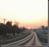 Sunrises are bad for pretty!