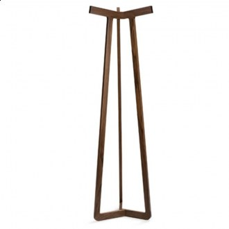 I love the simple, long lines of this coat rack. (misewell.com)