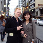 chie and matt in kyoto in Kyoto, Kyoto, Japan