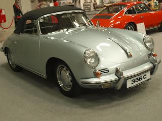Porsche 356 C model 1966, silnik 1.6l boxer chłodzony powietrzem