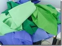 Iris wallhanging fabrics