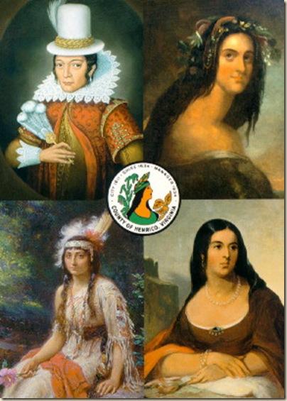 Portraits de Pocahontas