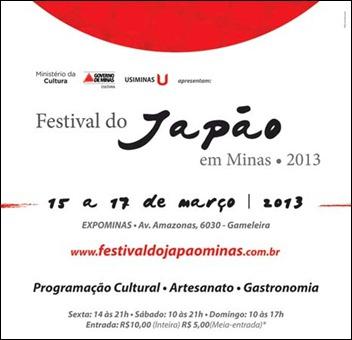 Festival do Japão em Minas 2013