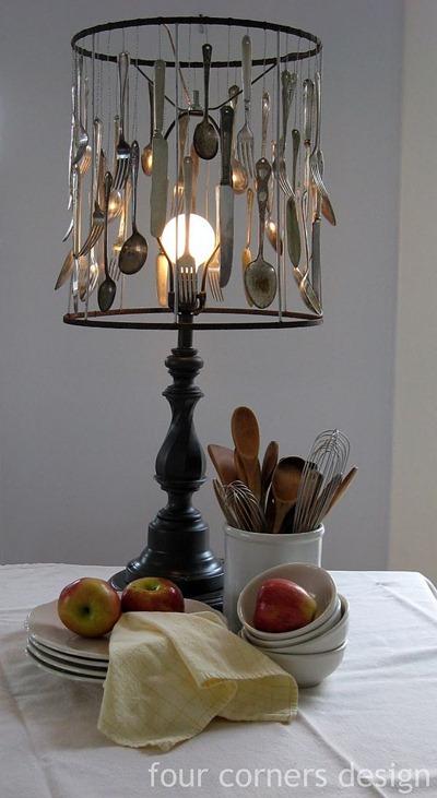 Lampa av bestick, Trendir